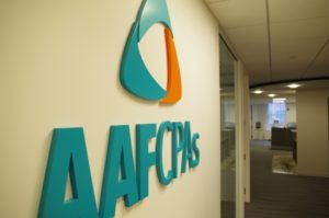 AAFCPAs Boston Office Sign