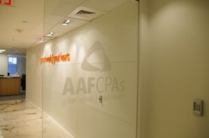 AAFCPAs Boston Office Entrance