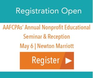 CTA - Nonprofit Seminar Registration