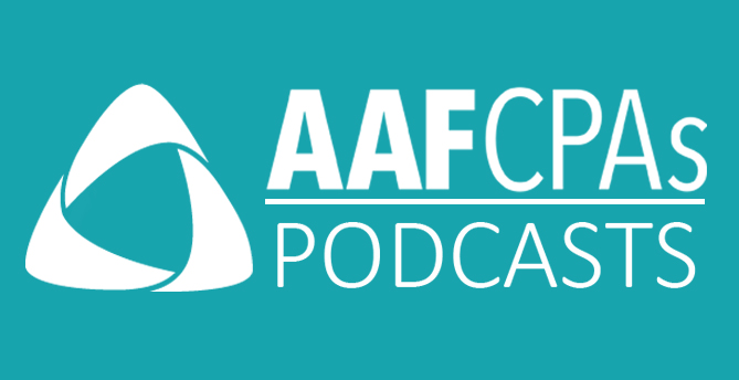 AAFCPAs Educational Podcast Series