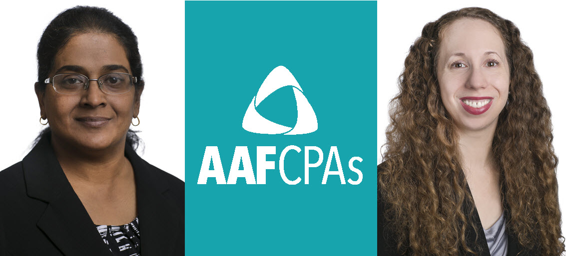AAFCPAs Adds Expertise to Support Growth in Commercial Tax by Welcoming Two Tax Advisors