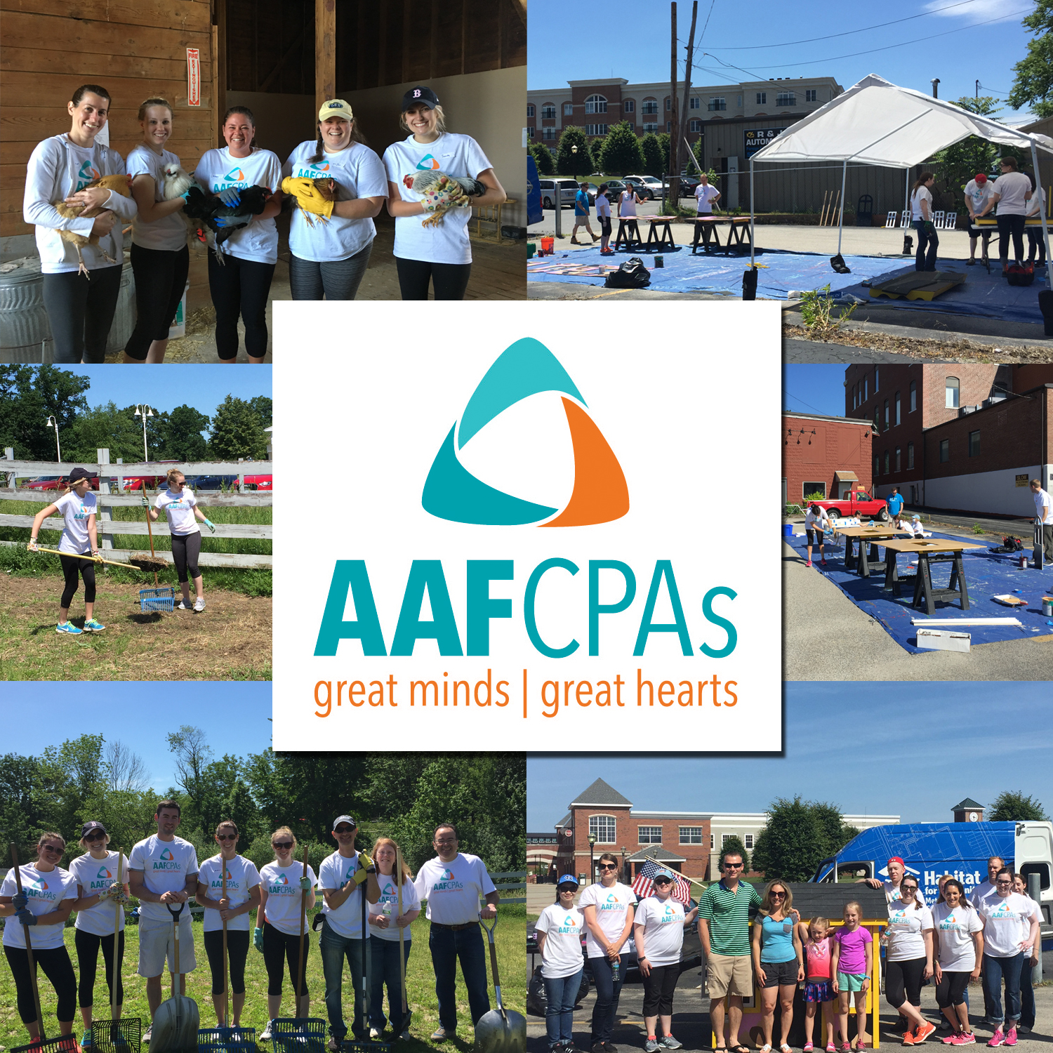 AAFCPAs Participates in 7th Annual MSCPA Day of Service