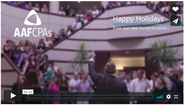 Happy Holidays, from AAFCPAs!