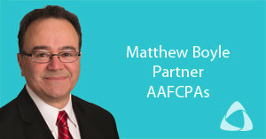 AAFCPAs' Matthew Boyle to Address CFOs in Transition at FEI-Boston