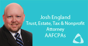 Joahua England - Tax and Nonprofit Attorney