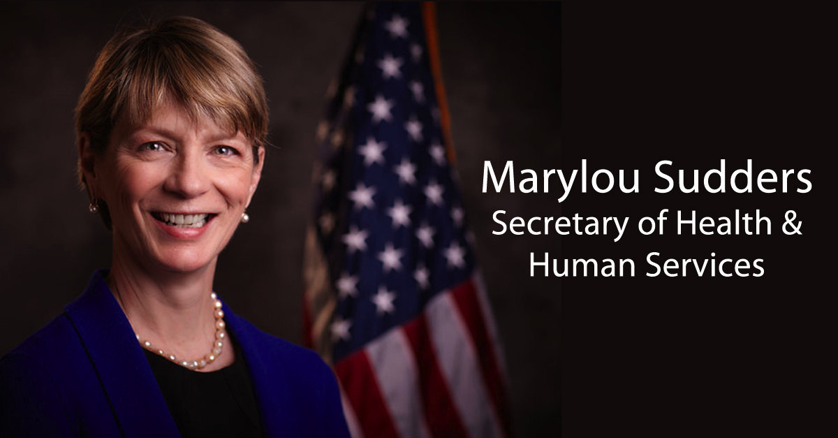 Secretary of Health and Human Services Marylou Sudders