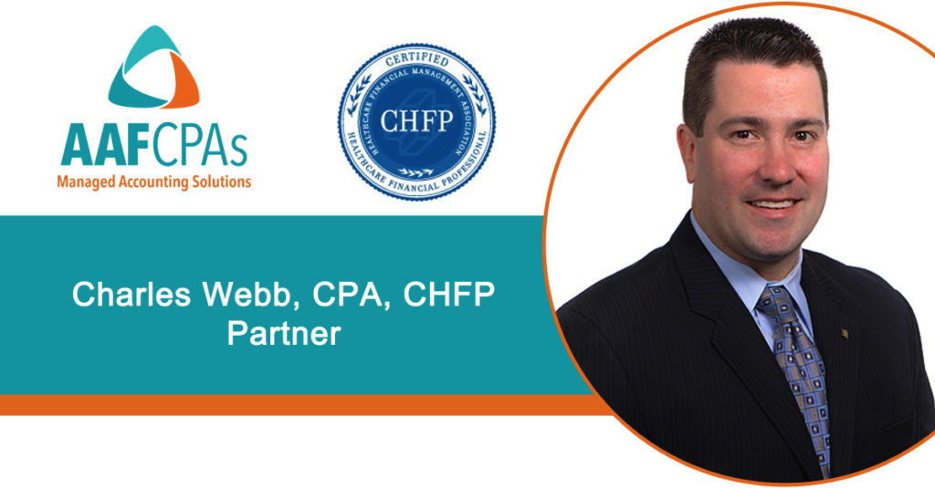 Charlie Webb, Partner, Earns CHFP