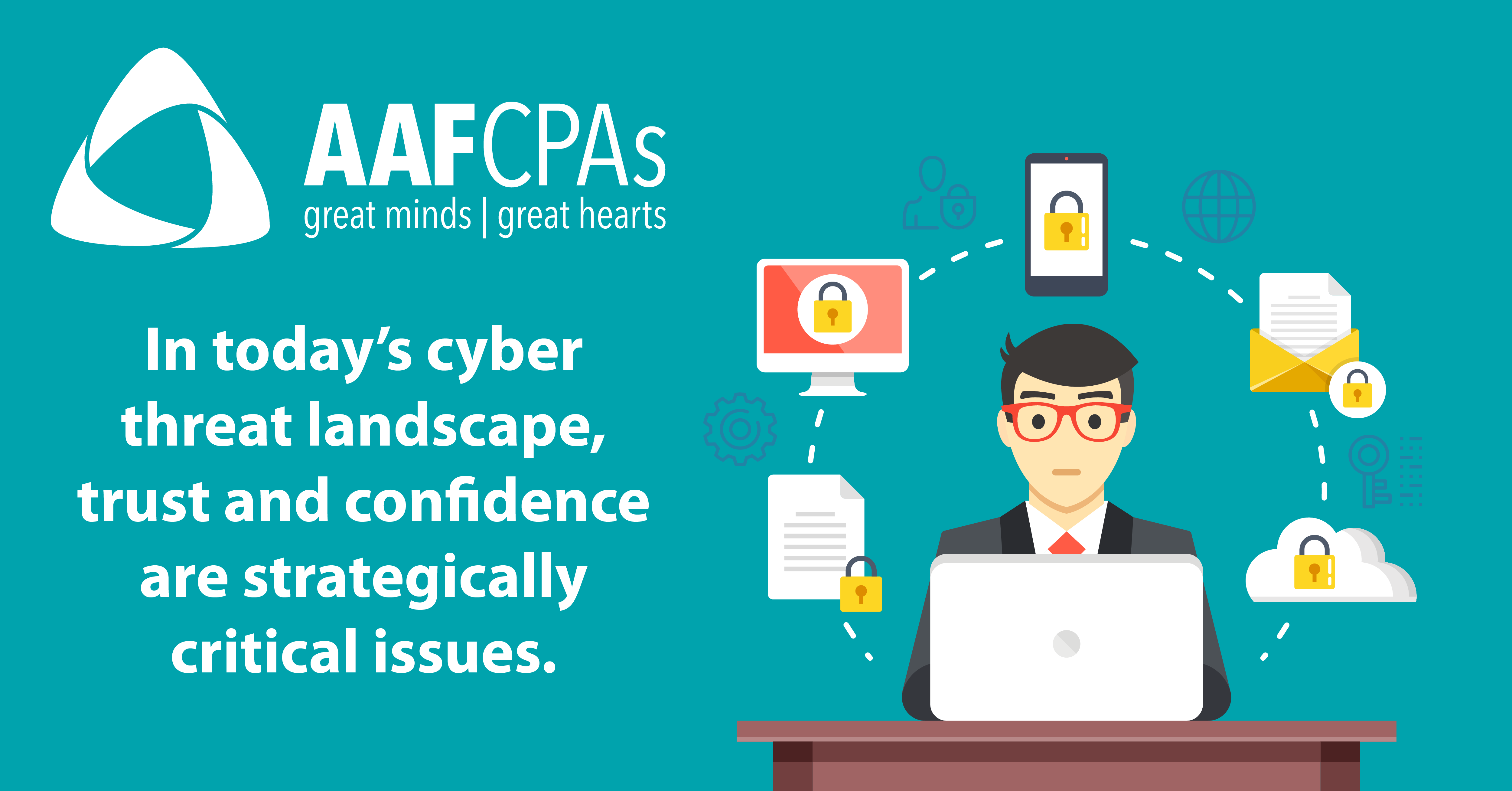 AAFCPAs Earns SOC for Cybersecurity Services Certificate