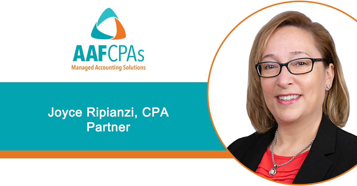 AAFCPAs Welcomes New Partner Joyce Ripianzi to Support Steady Growth of the Firm