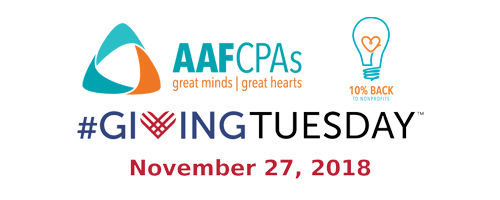 AAFCPAs Cultivates Lush Giving Tree Again for #GivingTuesday
