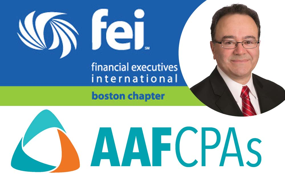 AAFCPAs' Matthew Boyle to speak at FEI-Boston