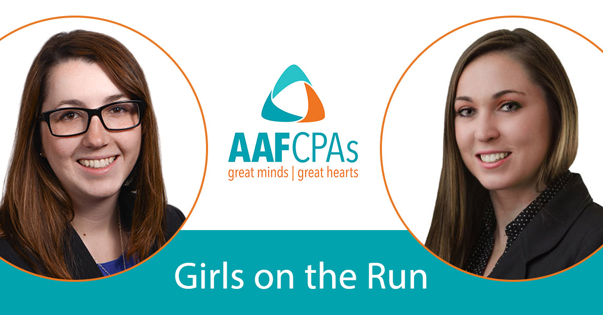 AAFCPAs' Duplin & LeMaire Both to Serve on Board at Girls on the Run, Worcester County