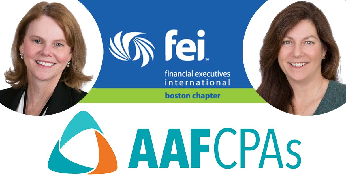 AAFCPAs to Present The Futuristic CFO: Master of Leveraging People, Process, and IT systems at FEI-Boston