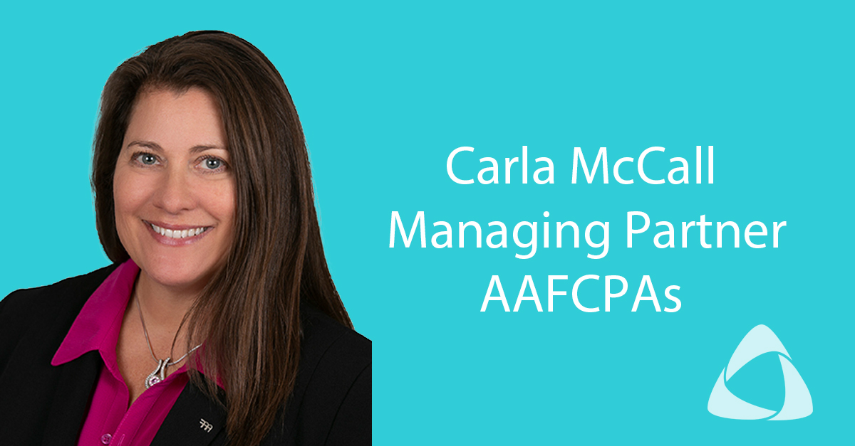 AICPA Names AAFCPAs' Carla McCall One of the  Most Powerful Women in Accounting