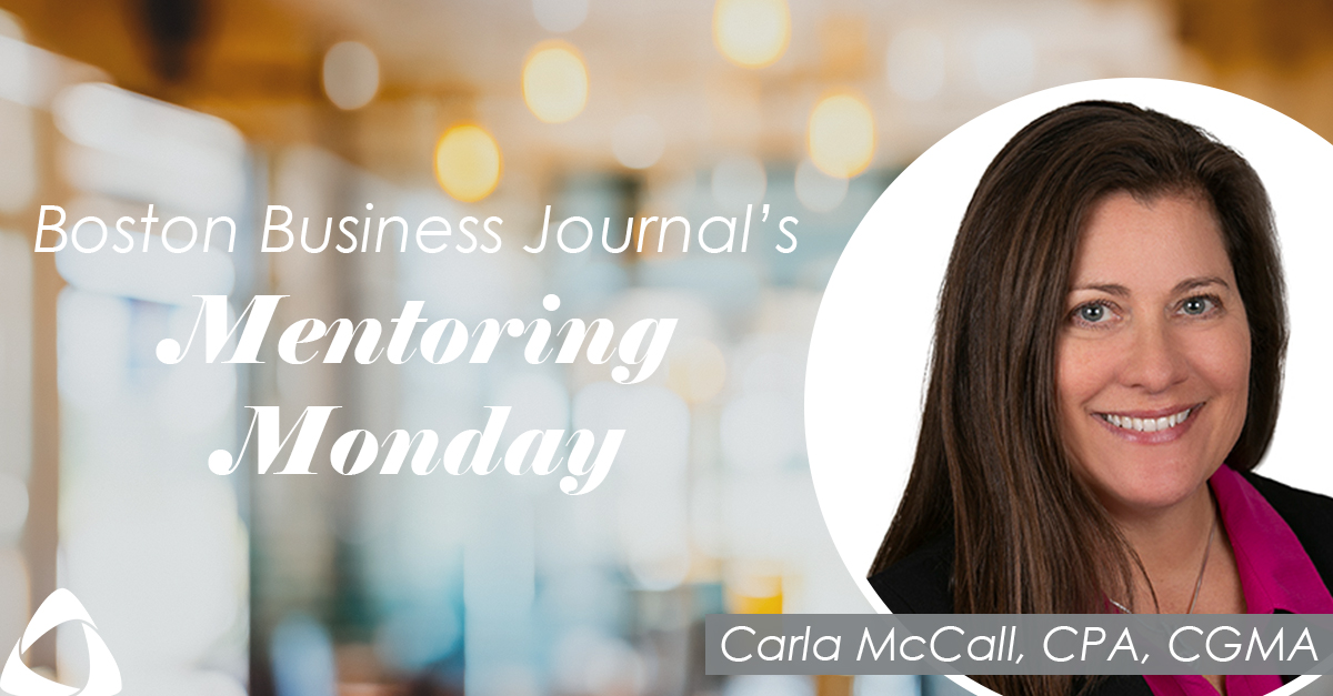 Carla McCall: One of BBJ's 2021 Mentors for Mentoring Monday
