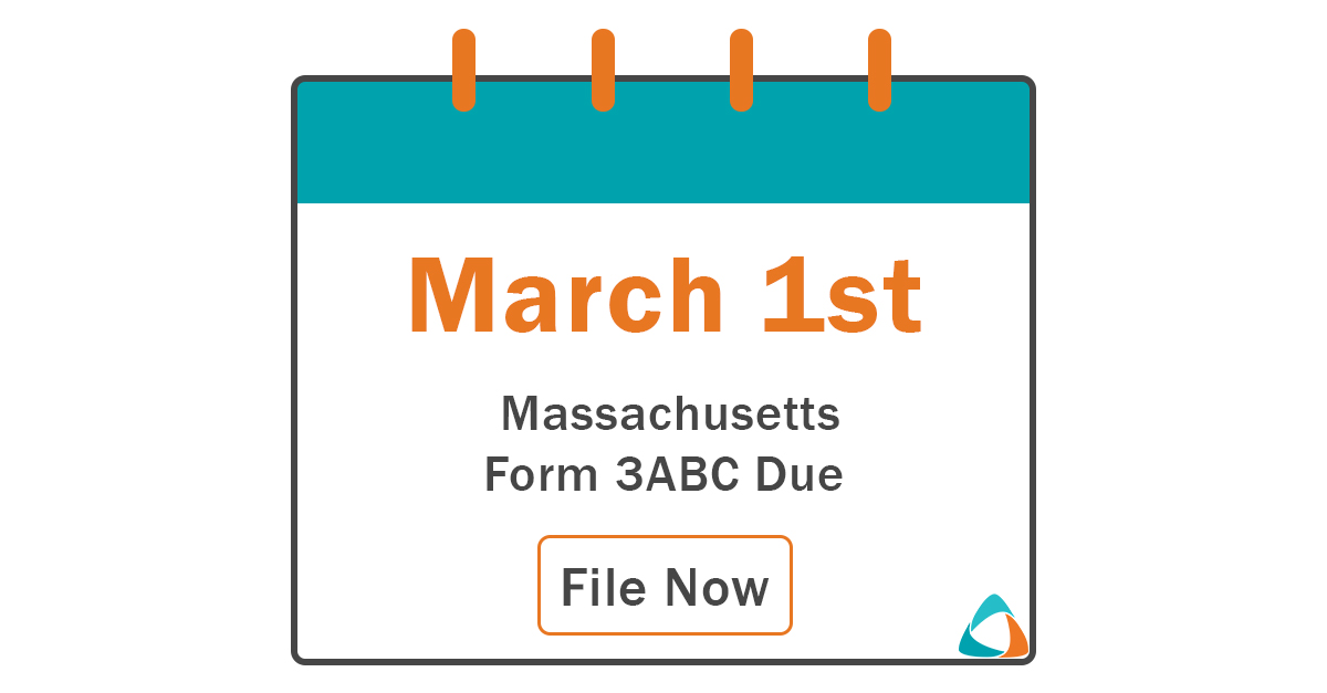 MA Form 3ABC due by 3/1 to avoid local property taxes
