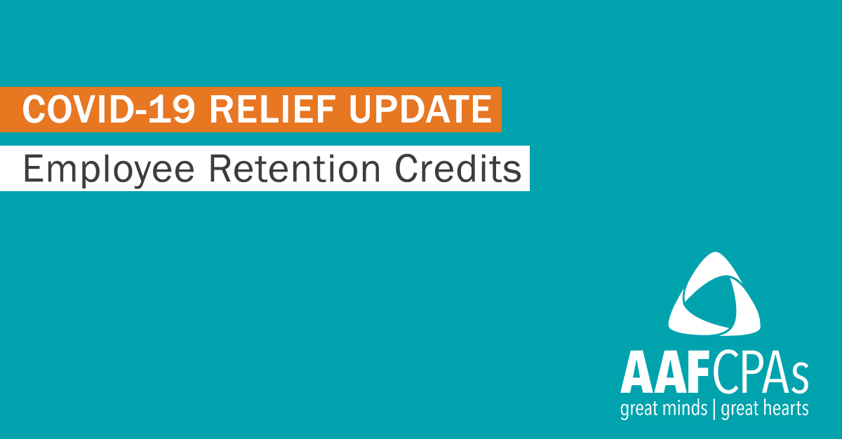 Biden Relief Package: Employee Retention Credits