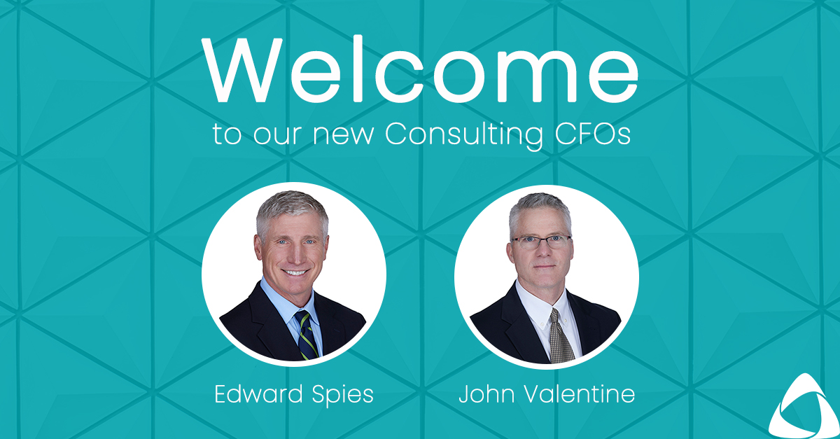 Consulting CFOs Edward Spies & John Valentine Join AAFCPAs' Growing Managed Accounting Solutions Practice