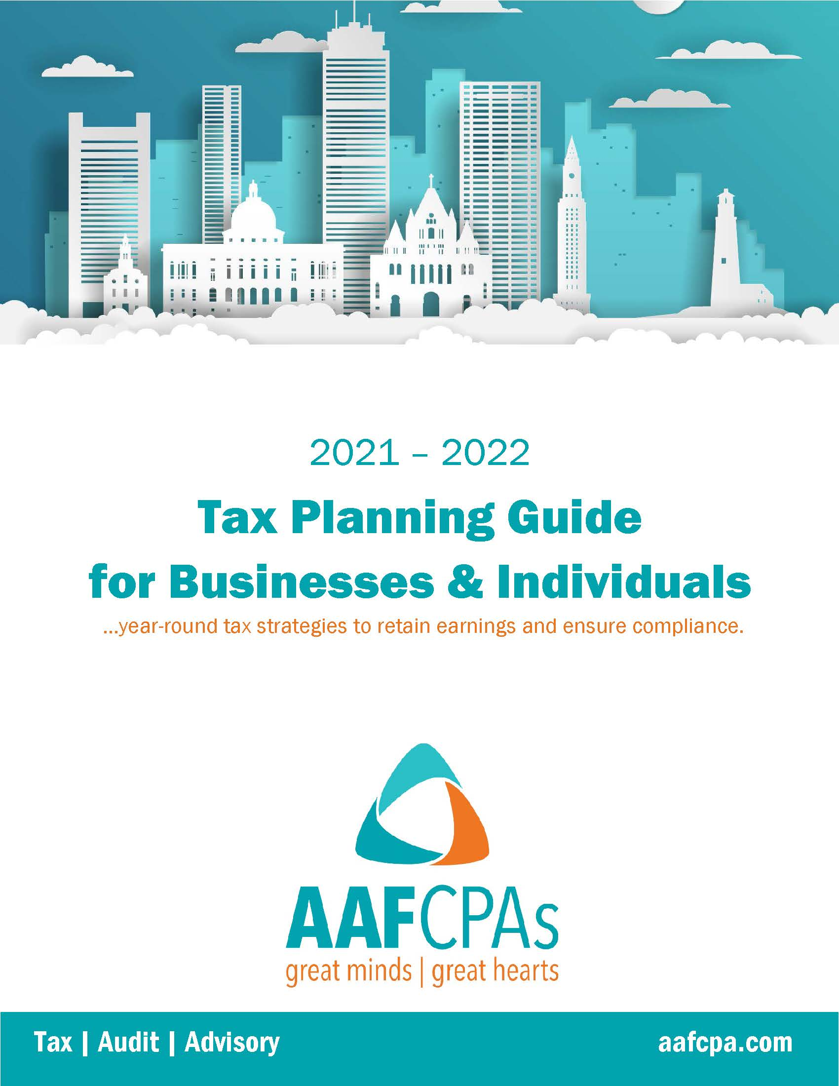 Tax Planning Guides for Businesses & Individuals (2021-2022)